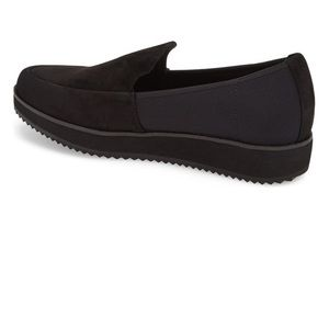 Eileen Fisher Shoes - Eileen Fisher dell black suede slip on loafer